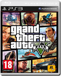 GTA V PS3 UP FOR SALE / POSSIBLE TRADE BRAND NEW FACTORY SEALED