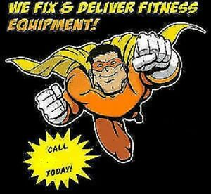 Fitness Equipment  Delivery Installation Repairs, New & Used