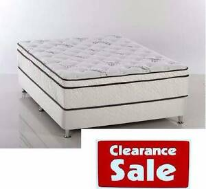 STOCK CLEARANCE!! NEW PILOW TOP MATTRESSES ON SALE TOP WA MADE!! Perth Region Preview
