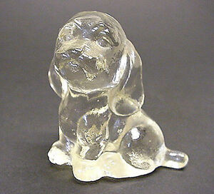 Vintage Goebel Clear Glass Cocker Spaniel, signed Kitchener / Waterloo Kitchener Area image 2