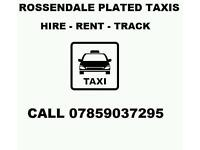 Rossendale Taxis Available for Hire / Rent / Track Skoda VW Vauxhall Uber Ready taxi Plated