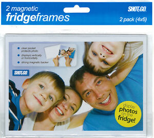 6x4 Magnetic Photo Fridge Frame (2 Pack)