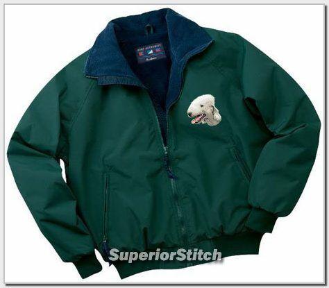 BEDLINGTON embroidered Challenger jacket ANY COLOR