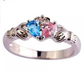 925 Sterling Silver Claddagh Ring