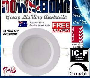10W LED DOWNLIGHT CE DIMMABLE 90MM CUTOUT COOL/WHITE AB Sydney City Inner Sydney Preview
