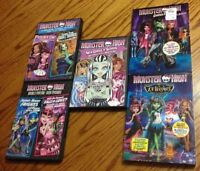 Katy Perry & Monster High DVDs