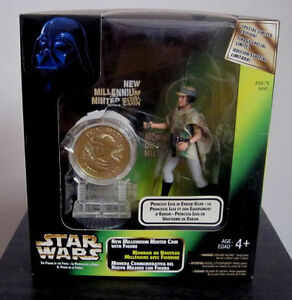 Star Wars Millenium Minted Coin Figures *Toys R Us Exclusives* Cambridge Kitchener Area image 3