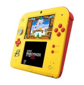 Nintendo 2DS Super Mario Maker for Nintendo 3DS Bundle - Yellow/Red