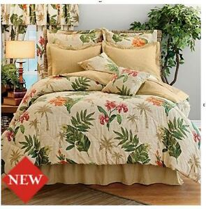 Feel like your on a vacation with our Tropical Bedding. These tropical styles remind you of your favorite island, or maybe the cruise you took in clear bue waters. Our tropical comforters, sheets and pillow cases will make you feel warm and peaceful. We Offer Quality Bedding at Discounted Prices, plus Free Shipping on Orders over $