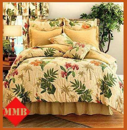 Palm Tree Comforter Ebay