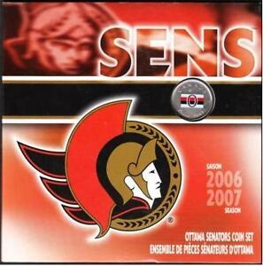 CANADA Ottawa Senators Gift Set 2006/2007 Season Gatineau Ottawa / Gatineau Area image 1