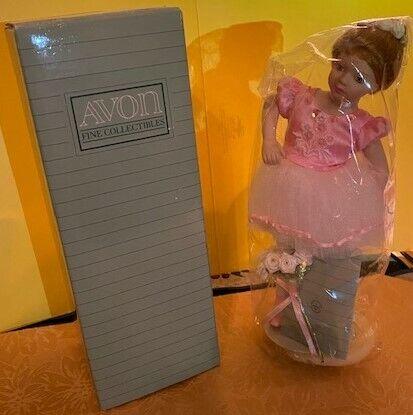 Vintage Avon Childhood Dreams Ballet Recital Porcelain Doll