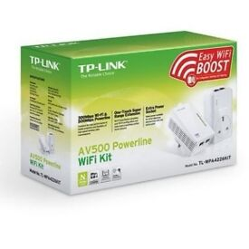 tp link av500 wifi ethernet powerline passthrough adapters