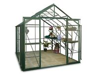 8' x 10' GREENHOUSE - HERCULES BLENHEIM GREEN