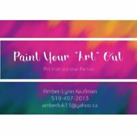 PAINT NIGHT- GREAT FOR HOLIDAY PARTIES