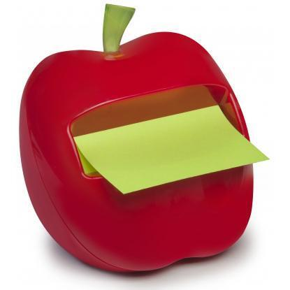Post-it Z-notes Appel Dispenser 76x76mm met 1 memoblok