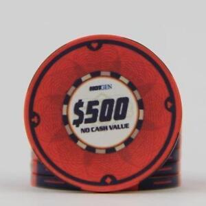 Jetons de Poker ceramique / Ceramic poker chip value 500