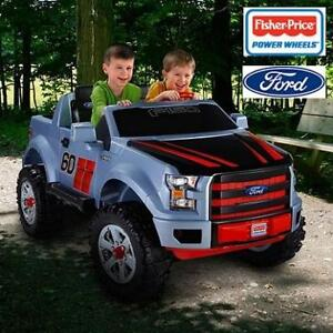 NEW FISHER-PRICE 12V FORD F-150 CDF54 200163209 POWER WHEELS EXTREME SPORT RIDE ON TOY W/BATTERY  CHARGER