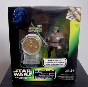Star Wars Millenium Minted Coin Figures *Toys R Us Exclusives* Cambridge Kitchener Area image 1