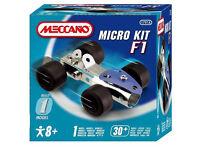 Meccano Micro Kit F1. New.