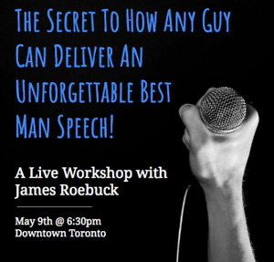 The Secret To How To Deliver An Unforgettable Best Man Speech