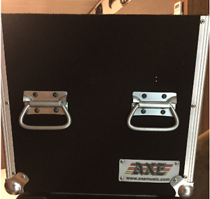 Component 4 rack travel case made by AXE music