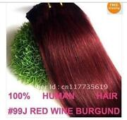 Red Hair Weave