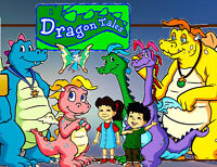 Dragon Tales -Complete Collection Season 1-3 DVD Set