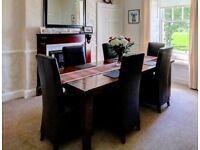 Dining table and 6 chaits