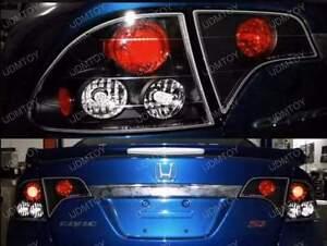 HONDA 06-10 4DRS BLACK TAIL LIGHT BRAKE LAMP ALTEZZA
