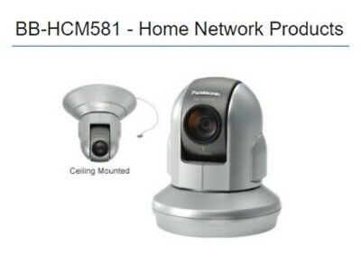 Panasonic Bb-hcm581a Ip Network Security Ptz Surveillance Camera