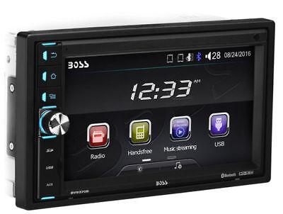 "Boss 2 DIN 320W 6.5"" Touchscreen MP3 Bluetooth Car Multimedia Player w/ Remote"