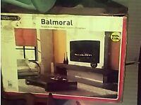 Bran new wall fireplace in box