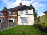 3 Bed Furnished House with Parking in Stechford
