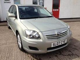 2007 07 TOYOTA AVENSIS 2.0 COLOUR COLLECTION D-4D 5D 125 BHP DIESEL