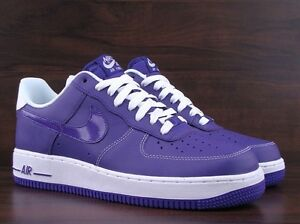 Nike Air Force 1s Court Purple Size 10