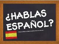 Spanish lessons. First for free.