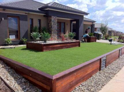Landscaping,Retaining Wall,Decking,Fence,Grass Turf,etc.