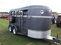 Looking for a three horse trailer!