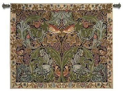 WILLIAM MORRIS ACANTHUS FLORAL GARDEN ART TAPESTRY WALL HANGING 70x57