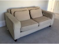 Two seater sofa bed in great condition (Sofa workshop)