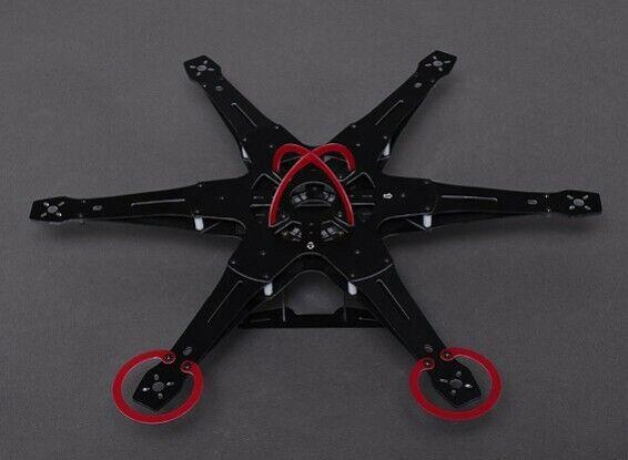 integrated pcb mini hex 420mm rc drone