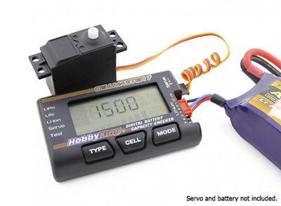 Lipo Cell Voltage (Hobbyking CellMaster 7 Lipo Battery Digital Cell Voltage Checker & Servo Tester )