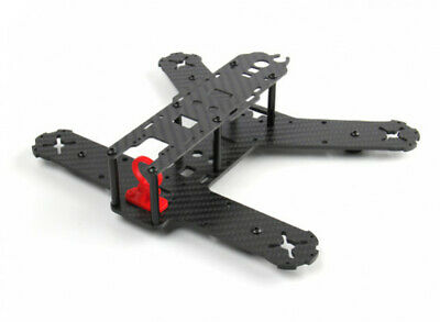 KINGKONG 210GT H FRAME KIT LITE CARBON FIBER 3MM RED FPV QUADCOPTER RACE DRONE