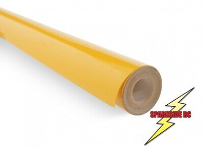 Cub Yellow Model iron on Covering Film RC Plane, 2.5m x 640mm