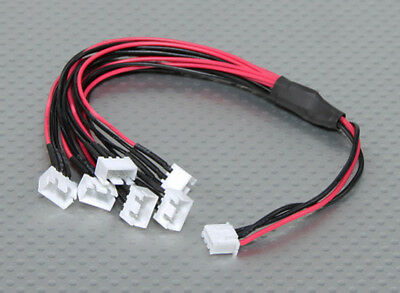 JST-XH Parallel Balance Lead 2S 250m 22AWG Wire Adapter 6xJST-XH Lipo Connector  ()