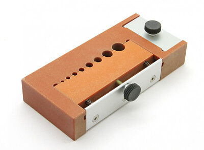 Phenolic Soldering Jig for Multiple Size Round Bullet Connectors 2 Clamp Options