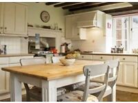 Desk spaces available to hire out for the day in this farmhouse home office in Swindon