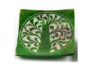 Green Soapstone Incense Holder With Carved Tree Of Life Design (z92) -  - ebay.co.uk