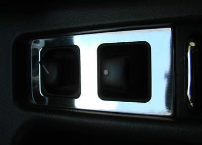 Mercedes Benz SLK R170 180 280 200 350 AMG Brabus Alu Zierblende Spiegelverst.